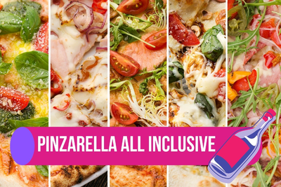 5 неаполітанських піц і вино за 649₴